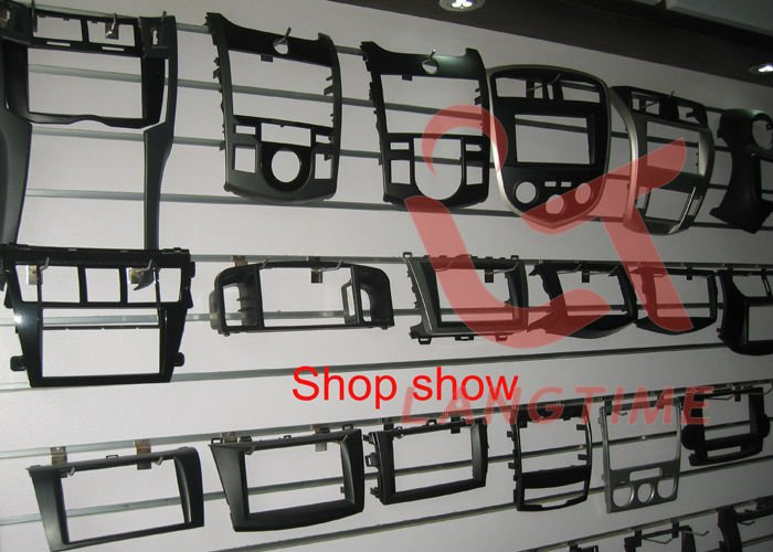 Sale Free shipping-Car refitting DVD frame,DVD panel,Dash Kit,Fascia,Radio Frame,Audio frame for 07 Honda Accord 2.4 , 2DIN 4
