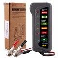 Alternador Universal 12 V Car Digital Verificador Da Bateria Testador de Bateria de Moto Carro-detector com 6 Luzes LED de Exibição