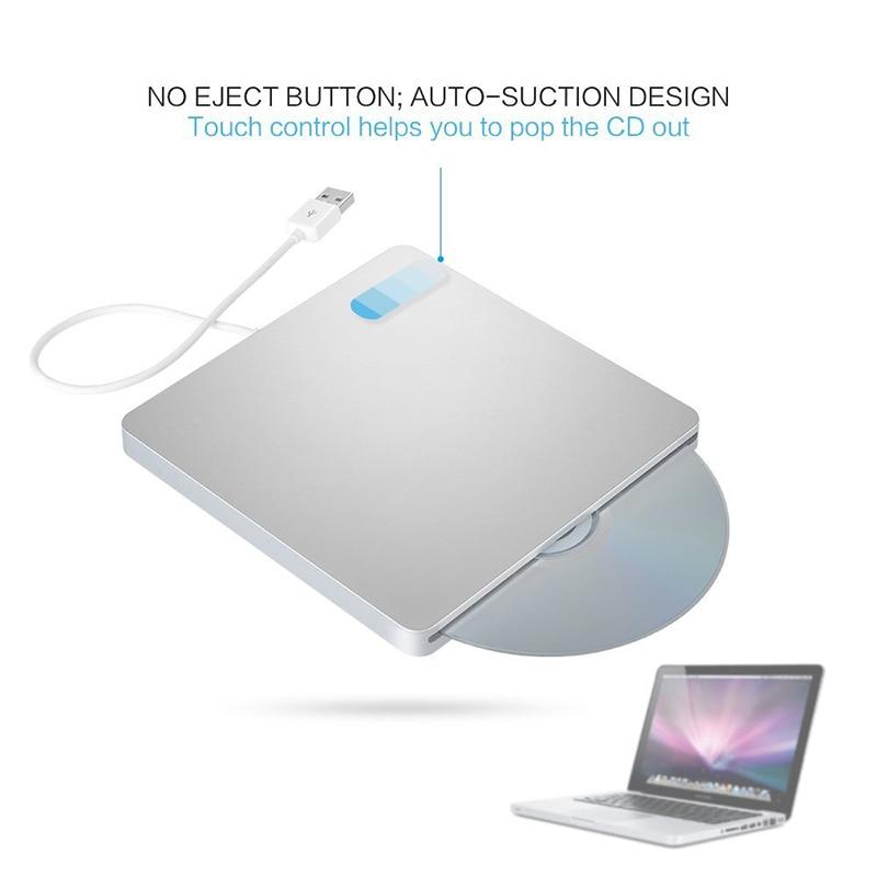 Se envía desde Europa USB 3.0 Blu-ray BD-RW Reproductor Ranura Carga - Componentes informáticos - foto 3