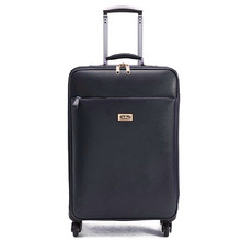 2016 new valiz bags free shipping men Suitcase bag, Business PU trolley case, new style, travel luggage, lock,mute,16 20 24 inch