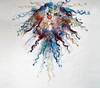 Único Estilo Italiano Chandelier Iluminação Frete Grátis Multi Colorido Lustres de Vidro Murano