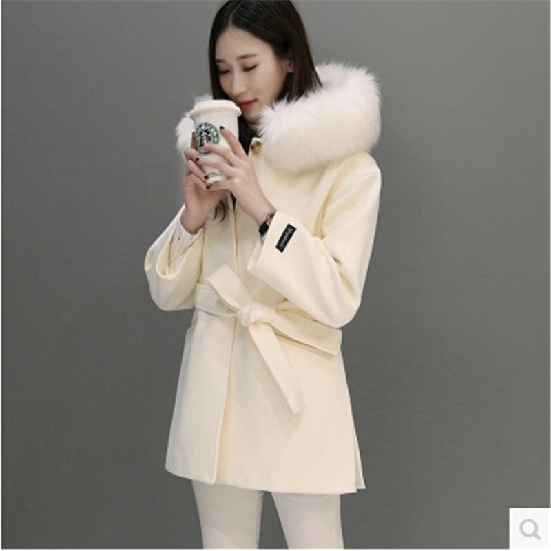 Winter White Wool Coat Promotion-Shop for Promotional Winter White ...