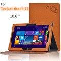 Для Teclast tbook11 10.6 дюймов планшет чехол цветочный принт искусственная кожа стенд откидная крышка чехол для Teclast TBOOK 11 цветка печать чехол