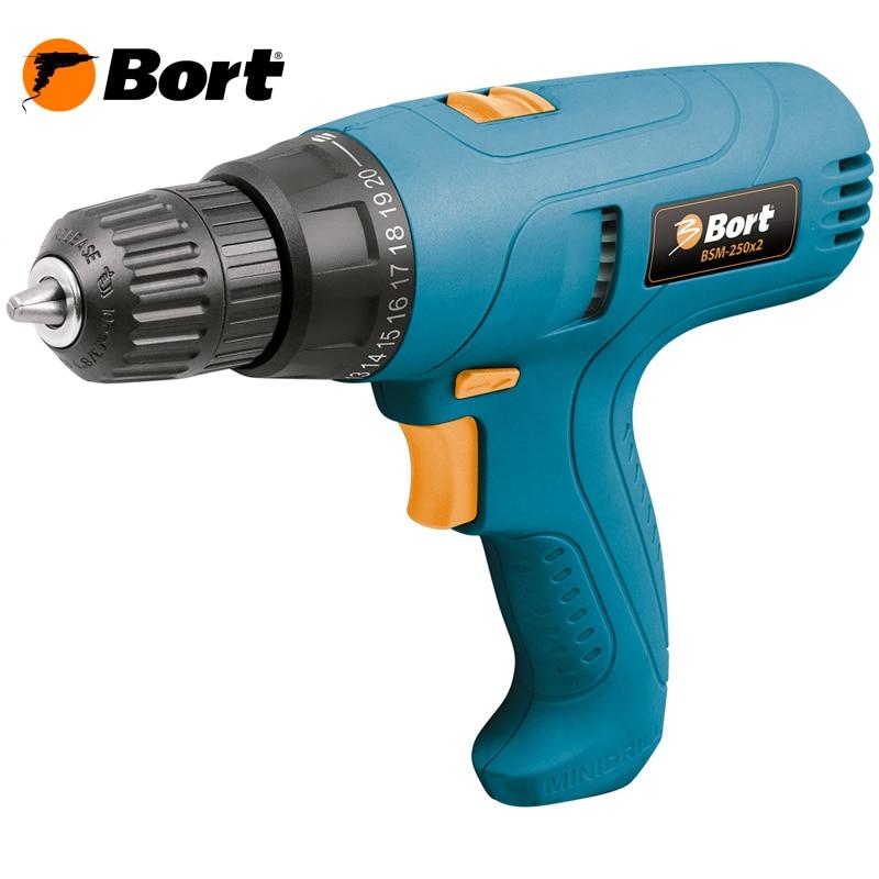 Electric Drill Bort BSM-250x2