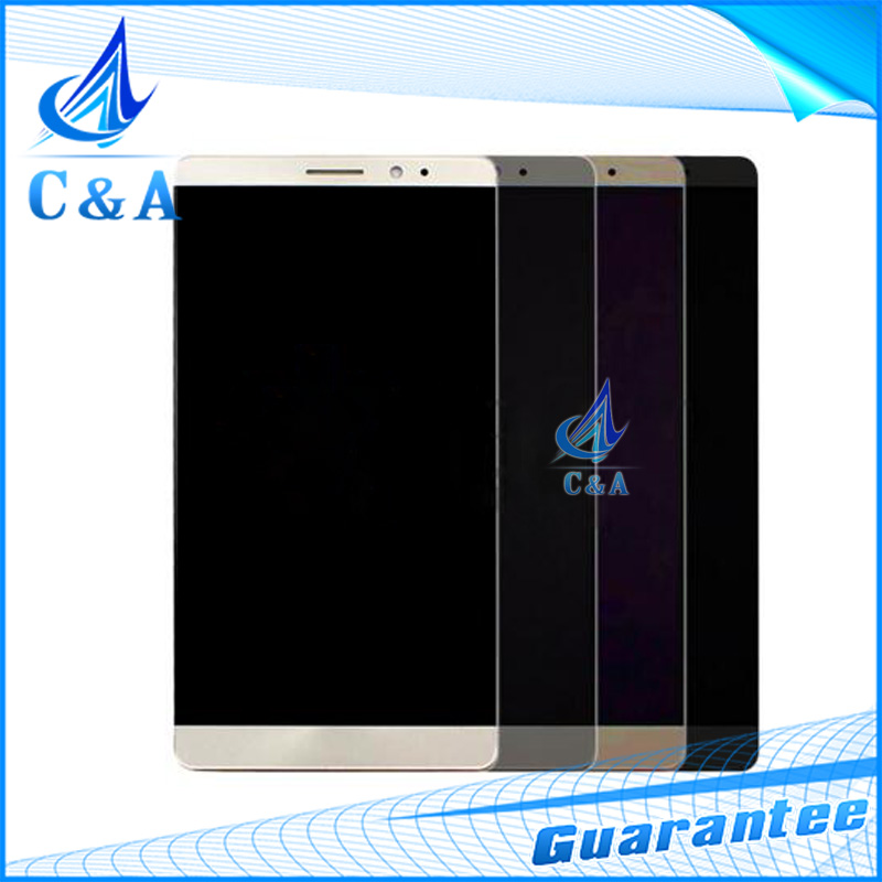 6 screen for Huawei Ascend mate 8 lcd display with touch digitizer assembly tested 3 pcs DHL/EMS post black white gold grey