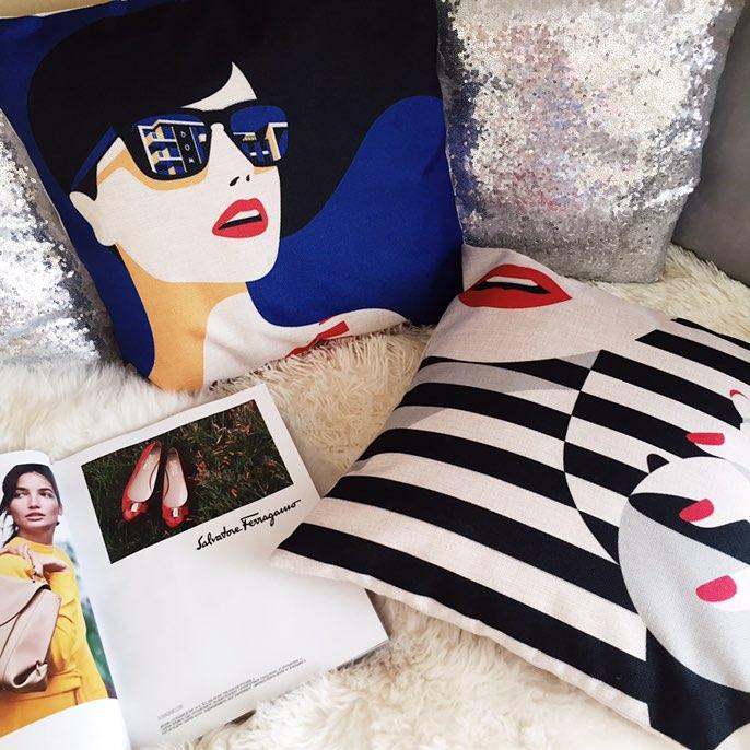 Стильные декоративные наволочки для подушек с Алиэкспресс