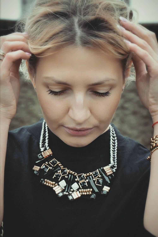 Comiya hot selling indian jewelry choker necklaces Korean acrylic handmade bijoux femme colar gargantilha necklace for women