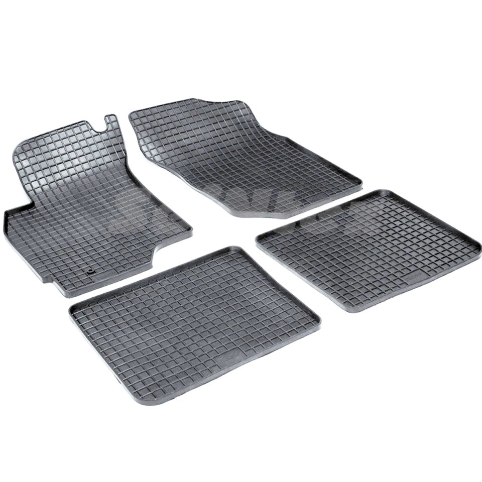 цена на Rubber grid floor mats for Mitsubishi Lancer IX 2003 2004 2005 2006 2007 Seintex 00249