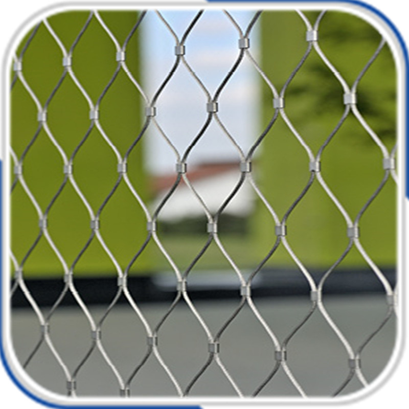 Customized flexible balustrade stainless steel wire rope mesh-in ...