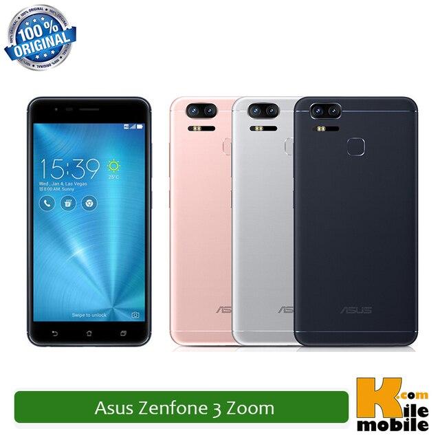 Original Asus Zenfone 3 Zoom ZE553KL 4GB RAM 64GB/128GB ROM Snapdragon 625 Octa Core Dual Sim 5000mAh LTE Smartphone