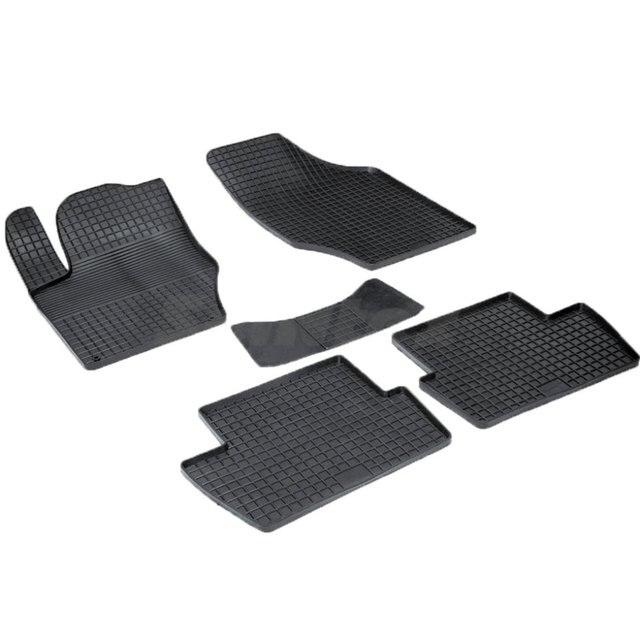 Резиновые коврики для Peugeot 308 (2011-) с рисунком Сетка (Seintex 00746)