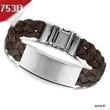 опк ювелирный 20 шт./лот смешанный заказ браслет искусственная кожа/силиконовые манжеты браслет стальной браслет бесплатная доставка