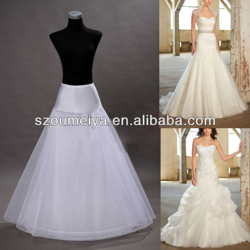 Op2 Wedding Accessory A Line Or Mermaid Dress Petticoat