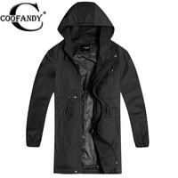 Coofandy 남성 트렌치 코트 겨울