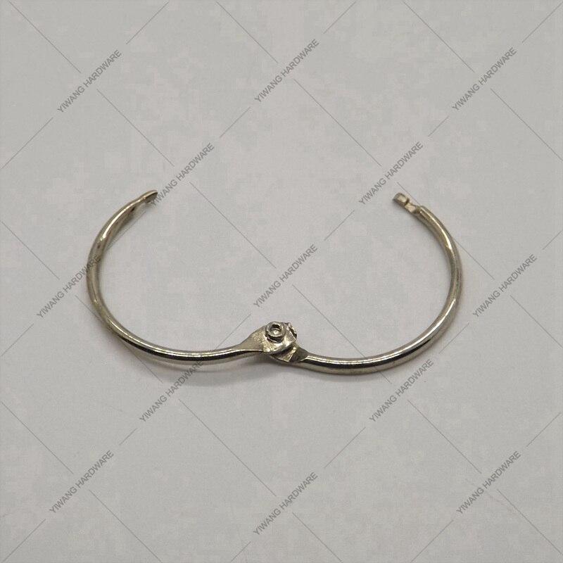 Aliexpress хорошее качество никель вкладыш переплетчиком навесной Кольца  открытка коллекция кольцо 4f77ee3d870