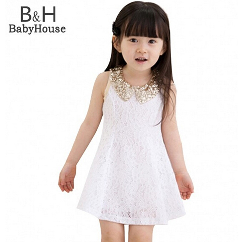 2017 New Fashion Girls Clothes Tutu Dress Kids Clothing Princess Baby Girl Dress Sequins Collar Black White Party Dresses new baby girls clothes fashion style dress for girl polka dot dresses white bowknot shirts children clothing set girls costume
