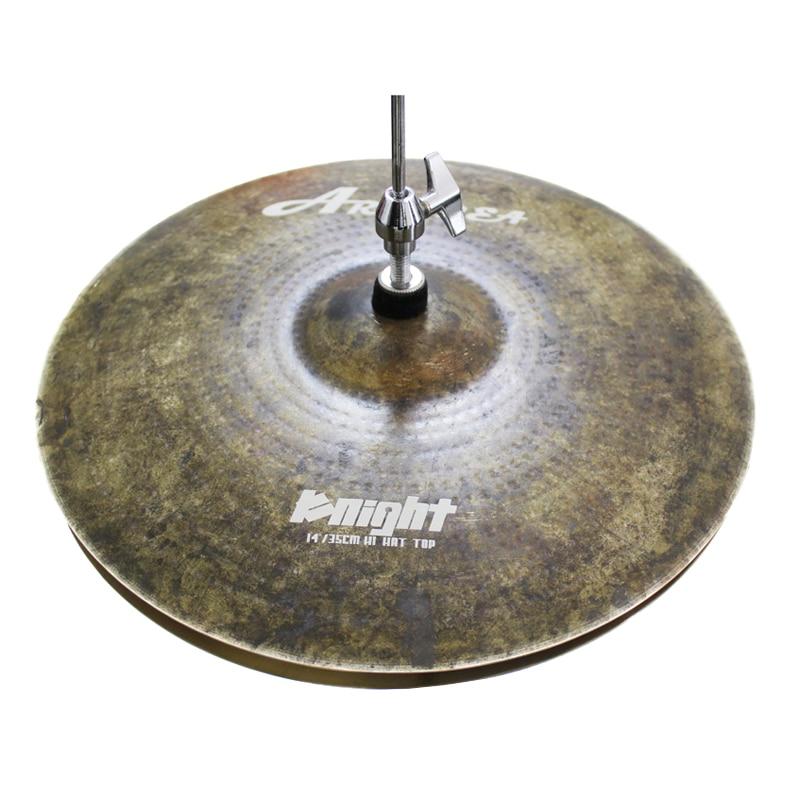 Arborea knight series 14hi-hat cymbal,drum cymbal тарелка хай хэт zultan 14 hi hat cs series