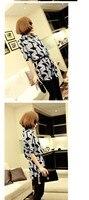 новый осень и зима американский ветер геометрические рубашка лацкан шифон рубашка женская рубашка женская блузка