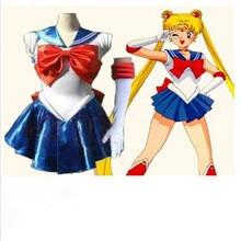 Anime pretty soldado partido sailor moon cosplay dress lolita traje de adultos disfraces de halloween cosplay sailor moon sailor jupiter cs241