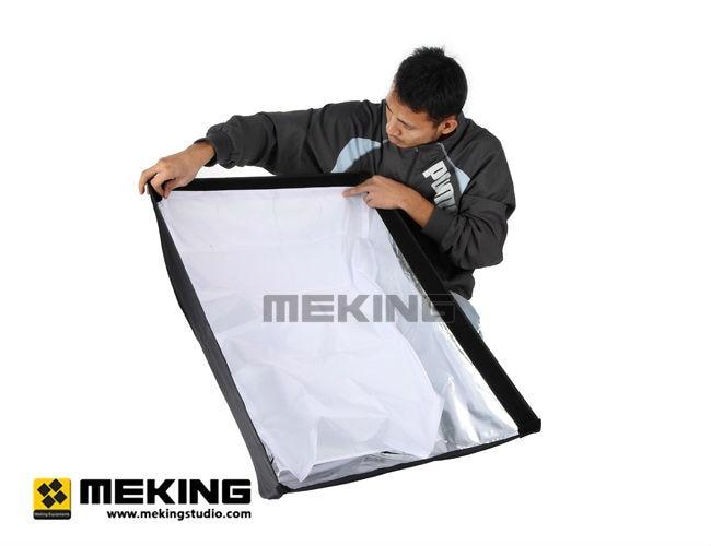 """Meking фотостудия световой софтбокс 70 см x 100 см/2"""" x 40"""" с креплением Bowens скоростное кольцо быстрая настройка Мягкая коробка"""