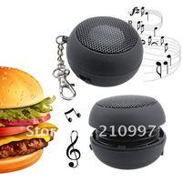 мини-черный гамбургер портативный динамик для iPod сенсорный, iPhone