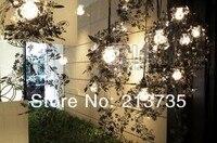 бесплатная доставка творческий сделай сам нержавеющей стали гирлянда свет лампы среда, Рождественский подарки для света Visit блеск свет