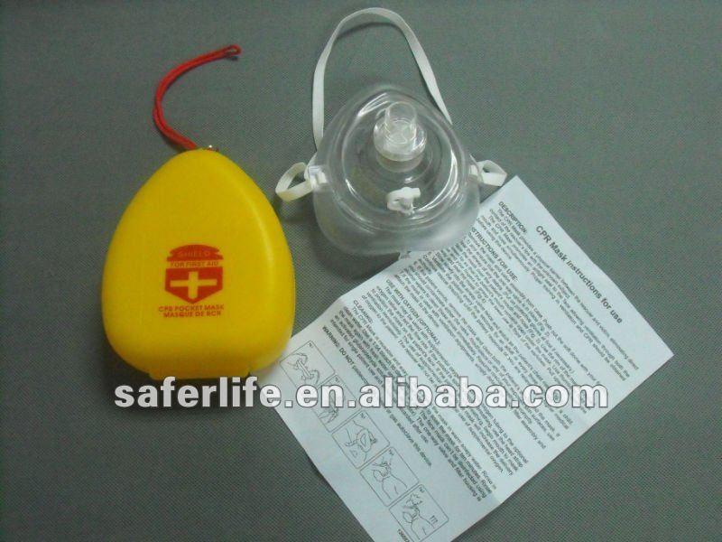 100 штук/партия, оказание первой помощи маска для искусственного дыхания и сердечнолегочной реанимации уход за кожей лица маска сердечно-легочной реанимации
