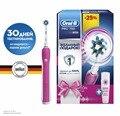 Электрическая зубная щетка Oral-B PRO 750 Cross Action (Розовая)