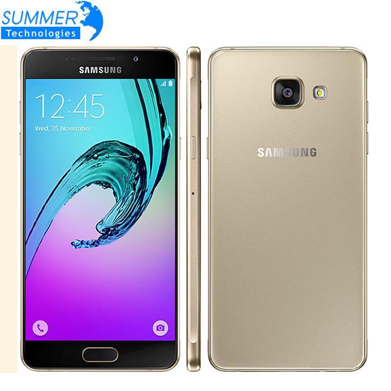 original samsung galaxy a5 a5100 teléfono móvil 5.2 ''dual sim MSM8939 Octa Cor