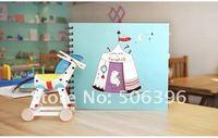 бесплатная доставка мода канцтовары оптовая продажа для DIY / фотоальбом блокнот для записей 3 конструкции н13