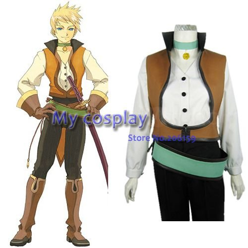 Tales of the Abyss Guy Cecil мужской косплей костюм мужской костюм Мужская одежда костюмы на Хэллоуин