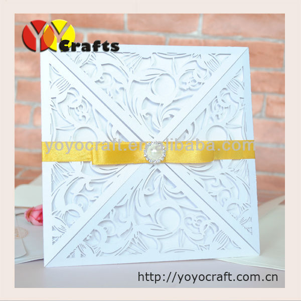 High class fancy laser cut paper crafts four folds freshers party tell us your demands just waiting for you stopboris Choice Image