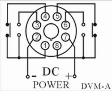 Dc voltage electronic voltage protection relay dc12v 24v 36v 48v in wiring diagram swarovskicordoba