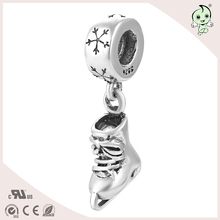 2016 Summer New Arrvial Sports Style Ice Skate Pendant Design S925 Sterling Silver Charm
