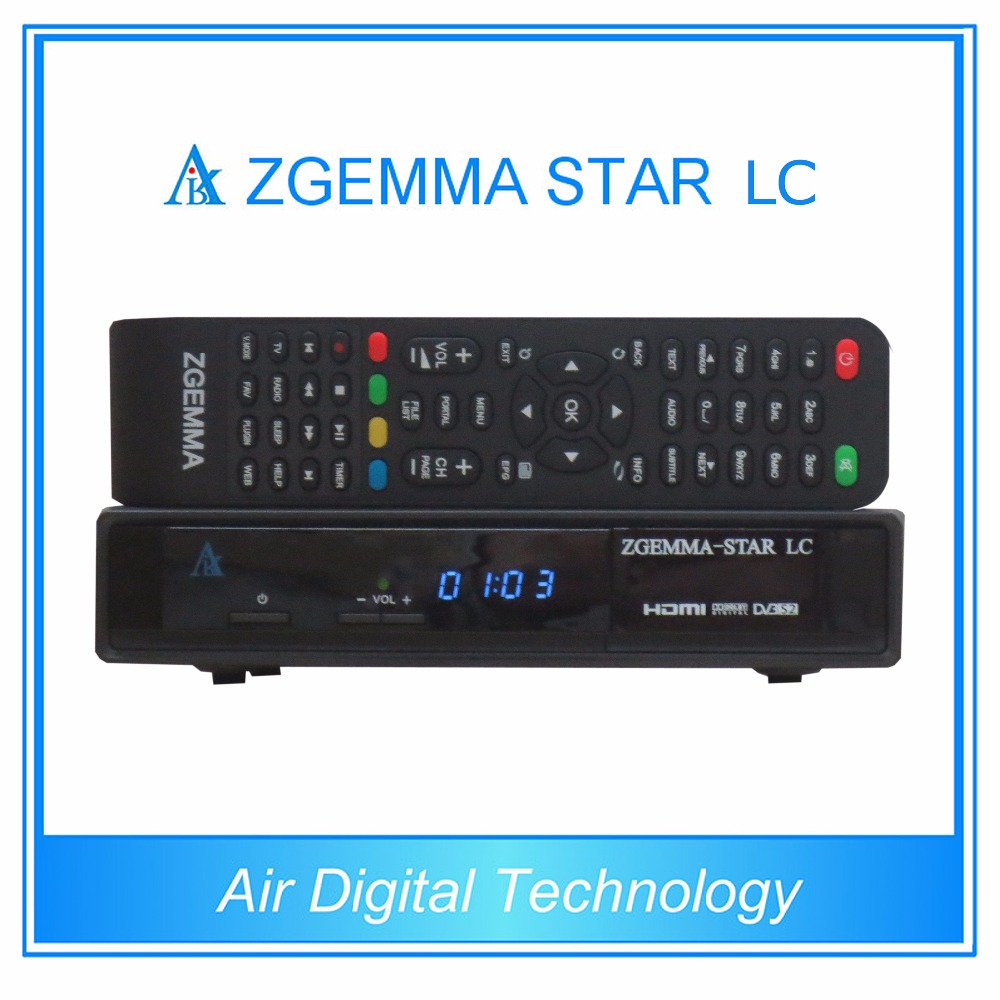 2 pcs/lot Enigma2 Linux cable set top box DVB C Zgemma-star LC 10pcs zgemma star i55 support satip iptv box bcm7362 dual core mainchipset 2000 dmips cpu linux enigma 2 hdmi connection
