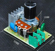Free Shipping!!  220V 500W dimmer thermostat regulator governor switch / 500W governor 33 * 50 /Electronic Component