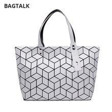 BAGTALK bolsos mujer 2017 Neue Design Geometrische Frauen handtasche Mode Japan Stil dame Tote Strandtasche Für Sommer