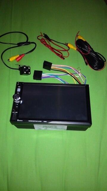 7080B 2 Din 7 Inch Touch Screen In Dash Auto Car Radio