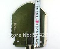 предложение отслеживая номер военный для походов раскладной лопата выживания много - использовать эксплуатировать ж / линейка марганец сталь