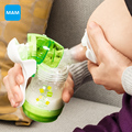 MAM Ручной Молокоотсос молоко Насоса Оригинальный Ручной Молокоотсос Молоко Кремния PP BPA БЕСПЛАТНО Зеленый грудного вскармливания ребенка продукта