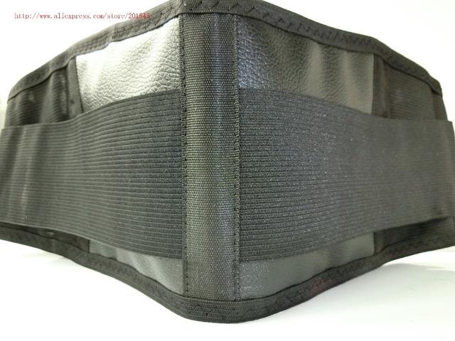 2 Pcs auto aquecimento turmalina suporte eletromagnética de aço médica Cintura Cinto Cinta