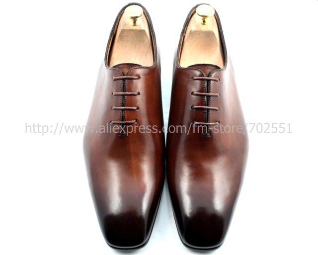CIE квадратный носок плоские, для пальцев на ногах весь вырез Mackay шнуровка натуральная подошва из телячьей кожи дышащие мужские оксфорды обувь ручной работы OX220