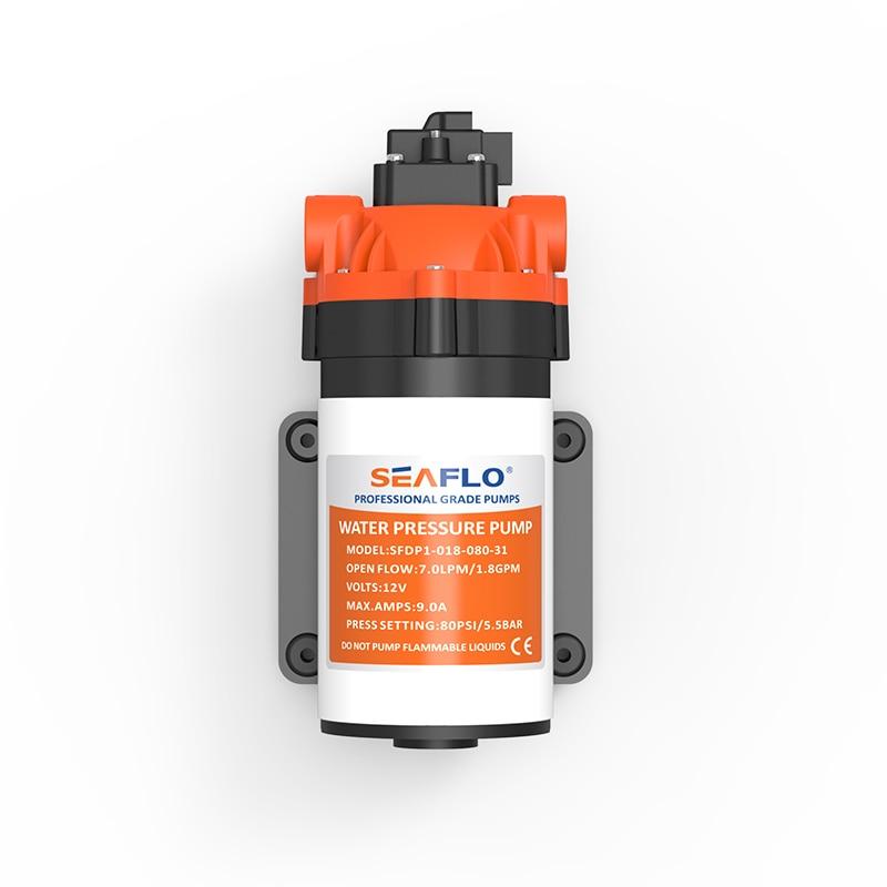 2016 Hot Sale SEAFLO Water Pump 12v High Pressure Diaphragm Pump 1.8 GPM 9.0A electric pump фильтр угольный cf 101м