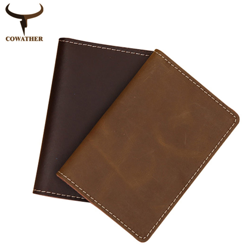 [COWATHER]  Vintage 2017 crazy horse cow genuine leather wallets for men Compact design Thin short purse easy take free shipping cowather 2017 crazy horse leather men wallets vintage genuine leather wallet for men cowboy top leather free shipping