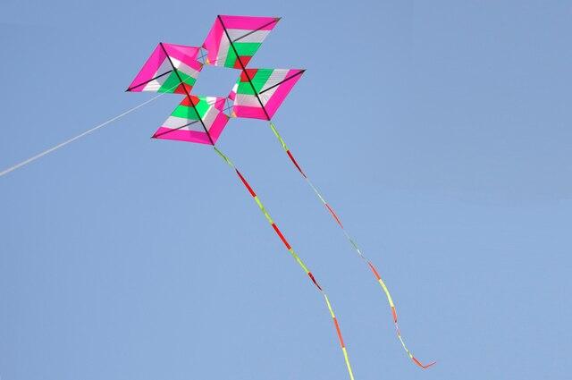Papalote Delta Kite Triángulo Manga De Viento Volar