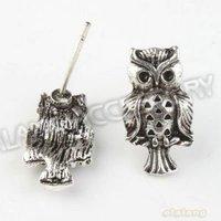 vintage150pcs/лот новый животных знаменитостью SA SA металла серьги Spike выводы Serge accessories13 * 11*11 мм 160728