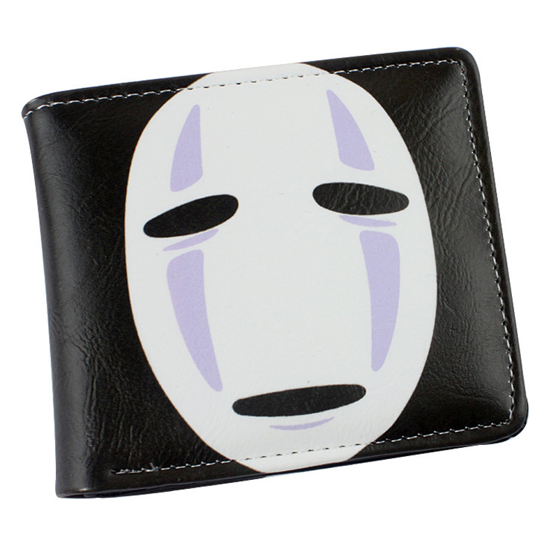 Spirited Away Colorful Printing PU Short Wallet Purse Anime ogino chihiro