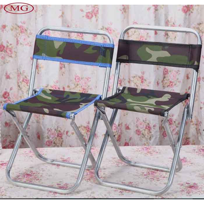 Fishing chair foldable outdoor backrest folding for fishing portable beach sunbath picnic BBQ stool