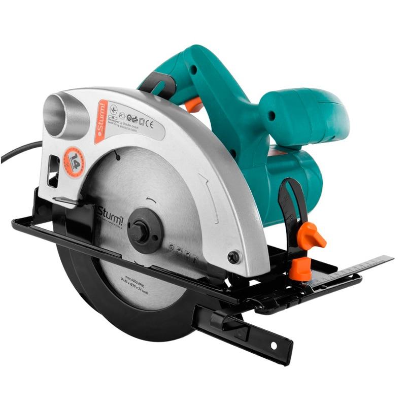 Circular saw Sturm! CS50186 circular saw blade 9 40t wood cutting round disc hard alloy steel circular saw