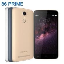 Oryginalny homtom ht17/ht17 pro telefon komórkowy 4g lte smartphone komórek telefony telefony Quad Core 1.3 GHz Android 6.0 marki 5.5 cal HD